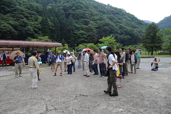 神子畑選鉱場跡・明延鉱山バスツアー